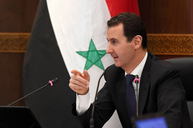 Le président syrien Bachar al-Assad... (PHOTO ARCHIVES AFP/A)