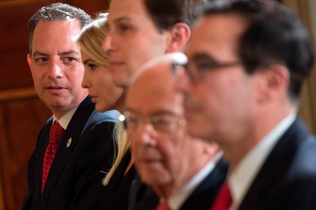 L'ancien secrétaire général de la Maison-Blanche, Reince Priebus... (PHOTO SAUL LOEB, ARCHIVES AGENCE FRANCE-PRESSE)