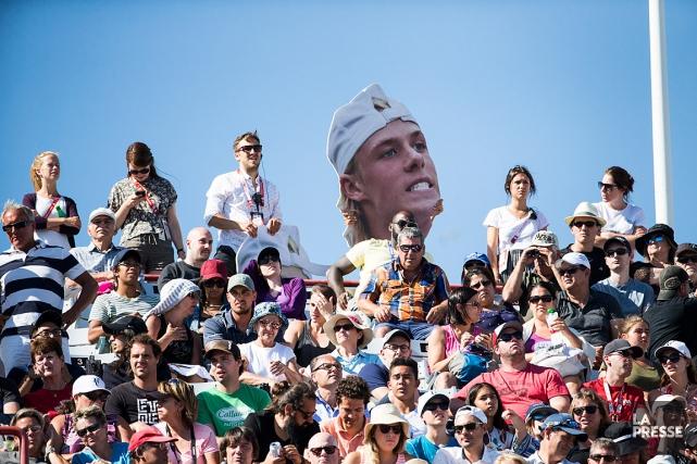 Tennis Canada a précisé que 216097amateurs ont franchi... (PHOTO OLIVIER PONTBRIAND, LA PRESSE)