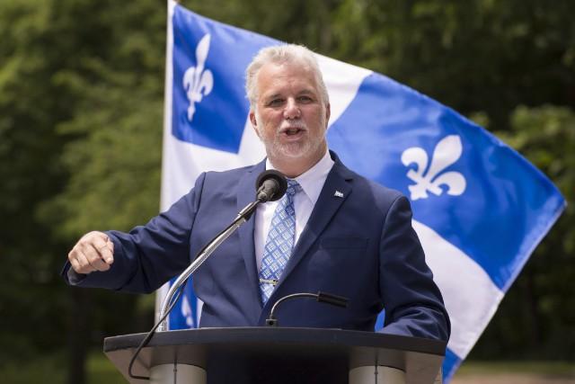 Dans son discours de clôture, Philippe Couillard a... (Photo archives La Presse canadienne)