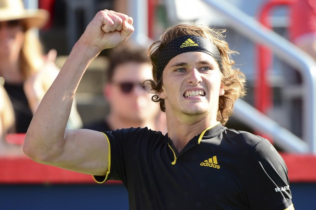 Tombeur de Denis Shapovalov en demi-finale samedi, Alexander... (La Presse canadienne, Paul Chiasson)