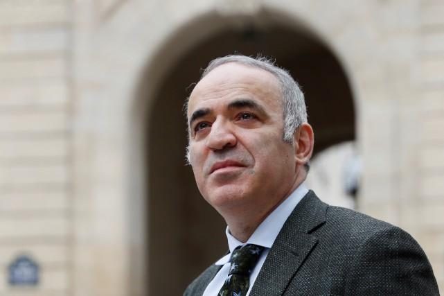 Garry Kasparov... (PHOTO AFP)