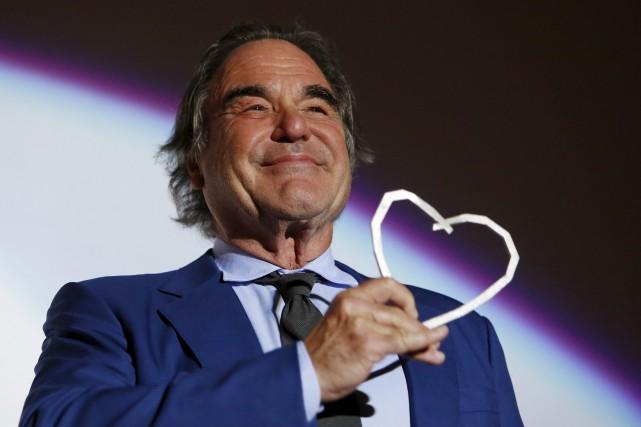 Oliver Stones'exprimait à l'occasion du festival du film... (AP, Amel Emric)