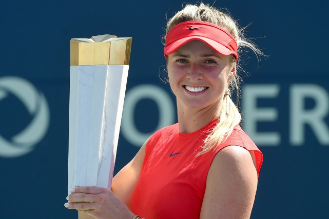 Elina Svitolina... (PHOTO REUTERS)