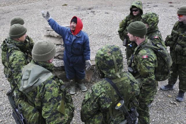 L'opération Nanook a lieu chaque année depuis 2007.... (Archives, fournie par l'armée canadienne)