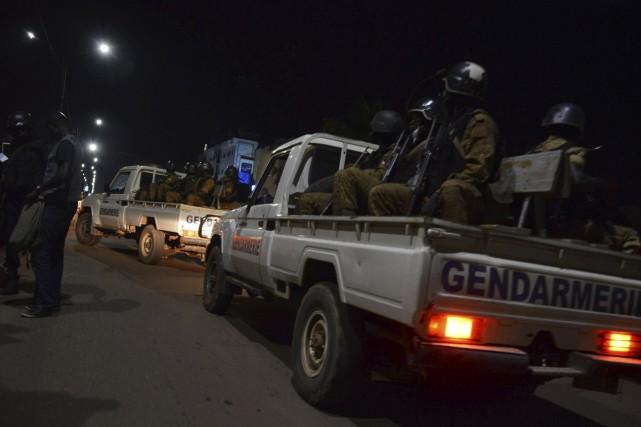 Les forces de l'ordre sont sur le pied... (Photo AFP)