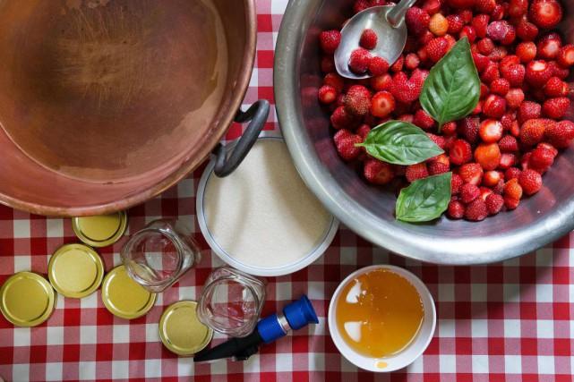 La confiture, traditionnellement, c'est des fruits et du... (Photo Robert Skinner, La Presse)