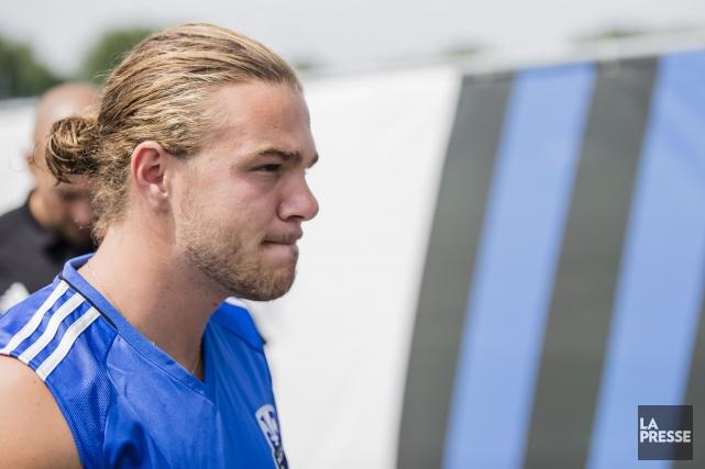 Samuel Piettea brillé à son baptême en MLS,... (Photo Edouard Plante-Fréchette, La Presse)
