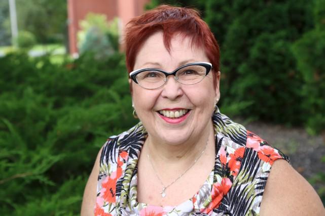 Lucie Desjardins est la présidente de l'Université du... (Janick Marois)