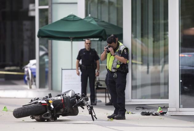 La police de Vancouver affirme que la victime... (La Presse Canadienne)