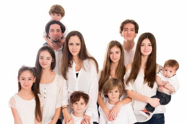 La famille Groulx, qui compte neuf enfants, tiendra... (fournie par Canal Vie)