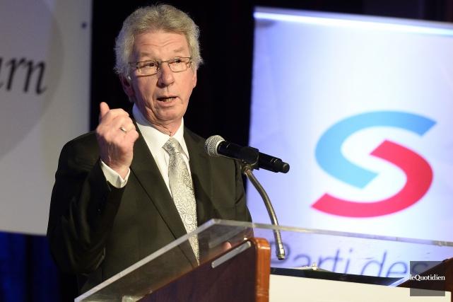 Jean-Pierre Blackburn quitte le Parti des citoyens de... (Archives Le Quotidien, Jeannot Lévesque)