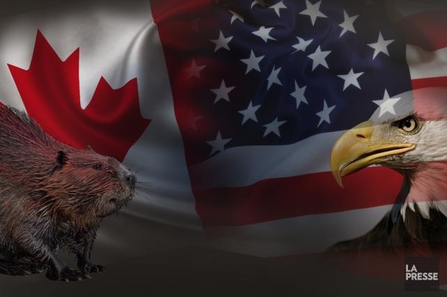 Le Canada et sa ministre des Affaires étrangères... (PHOTOMONTAGE LA PRESSE)
