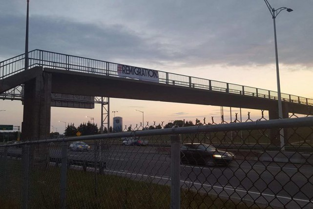Tôt lundi matin, les automobilistes de Québec ont... (PHOTO TIRÉE DE FACEBOOK)