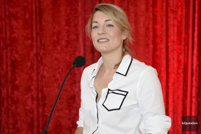 La ministre du Patrimoine canadien, Mélanie Joly.... (Le Quotidien)