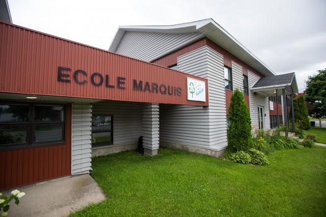Avec la fermeture de l'École Marquis, plusieurs familles...