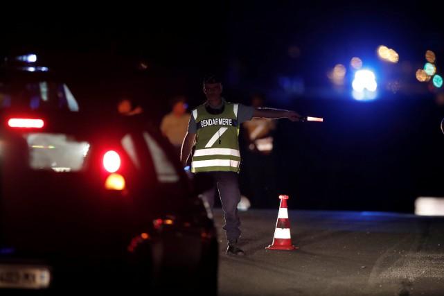 Le conducteur du véhicule a confirmé aux policiers... (REUTERS)