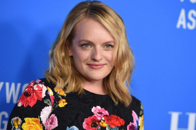 Elisabeth Moss... (Photo Jordan Strauss, Archives Associated Press)