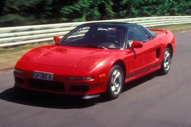 Acura NSX 1990... (PHOTO FOURNIE PAR LE CONSTRUCTEUR)