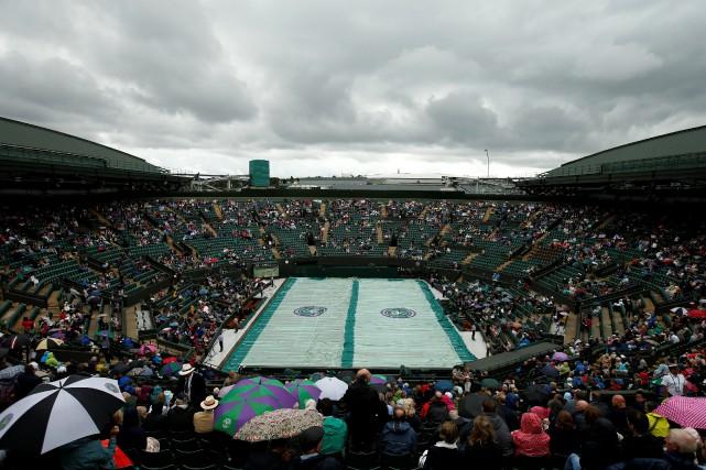 Le court numéro 1 de Wimbledon lors d'un... (Photo Andrew Couldridge, archives Reuters)