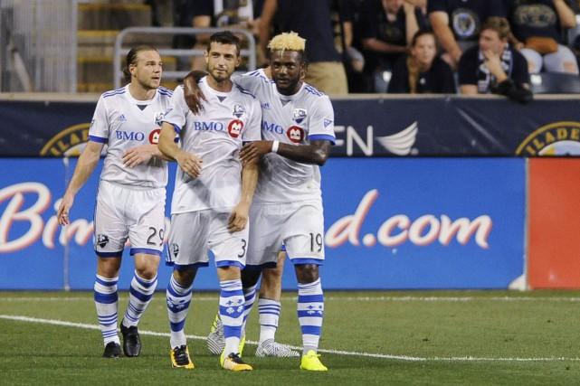 L'Impact a défait l'Union 3-0, à Philadelphie, samedi... (AP)