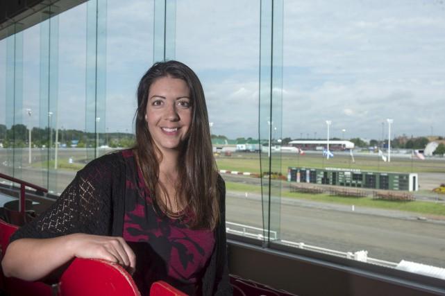 La nouvelle directrice générale de l'Hippodrome 3R, Marielle... (Stéphane Lessard)