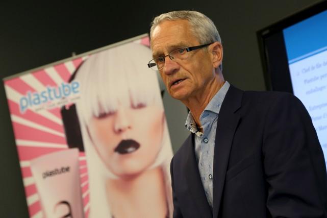 Le président et directeur général de Plastube, Gilles... (Janick Marois)