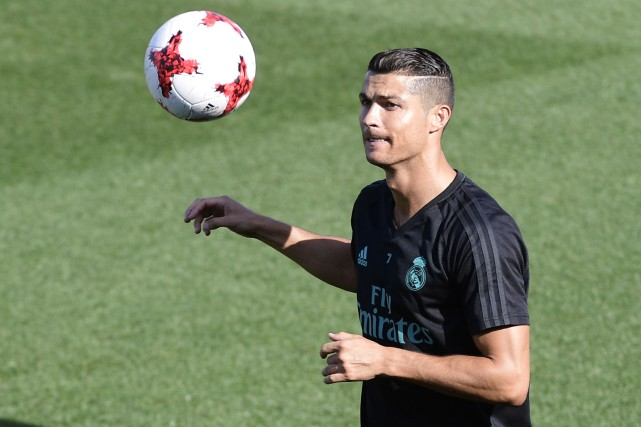 Cristiano Ronaldo... (Photo Javier Soriano, AFP)