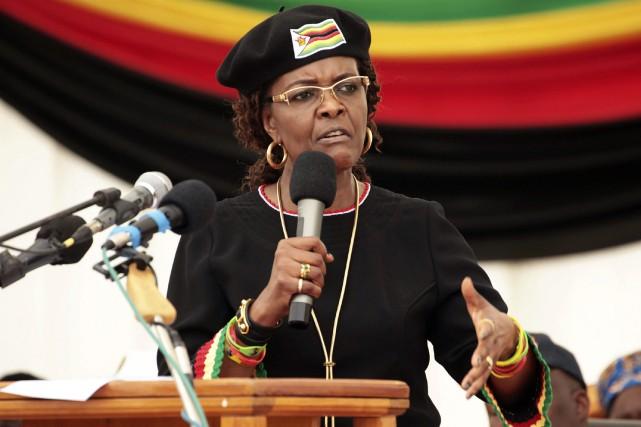 Grace Mugabe est accusée d'avoir, dimanche dernier, frappé... (AP)