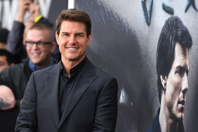 Tom Cruise souffre d'une sérieuse blessure à la... (Photo Angela Weiss, AFP)
