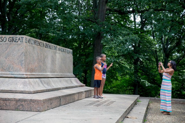 Les statues confédérées de Baltimore ont été retirées... (PHOTO AFP)