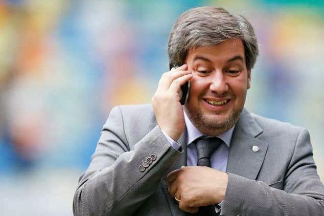 Le dirigeant du Sporting, Bruno de Carvalho, a... (Photo tirée de Twitter)
