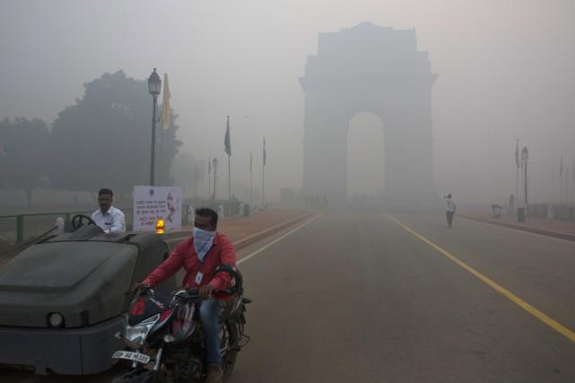 L'Inde fait partie des pays ayant la plus... (ARCHIVES AP)