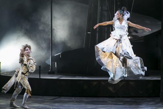 Le spectacleStone, Hommage à Plamondon, du Cirque du... (Olivier Croteau)