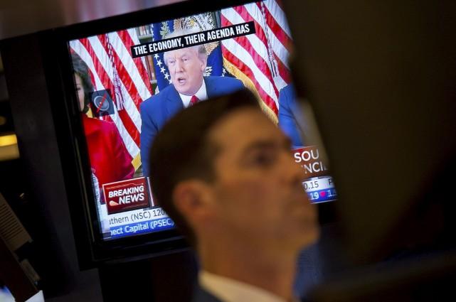 Donald Trump a été confronté à une vague... (AFP, Bryan R. Smith)
