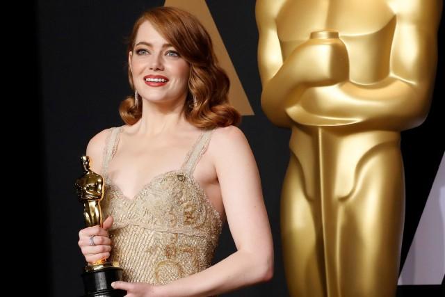 Emma Stone a remporté l'Oscar de la meilleure... (PHOTO REUTERS)