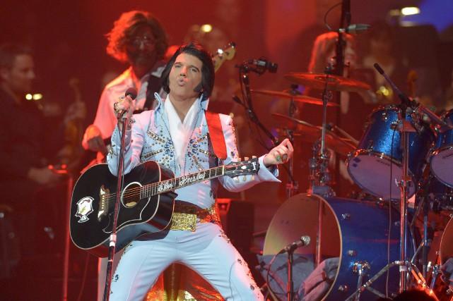 Le spectacle Elvis Experience Symphonique était présenté une... (Le Soleil, Yan Doublet)