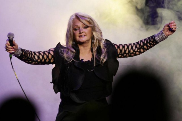 La chanteuse Bonnie Tyler... (photo yui mok, archives associated press)