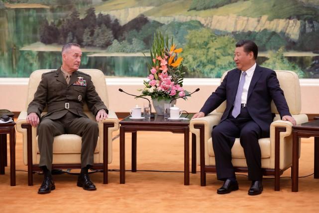 Le général Dunford, présent en Corée du Sud... (REUTERS)