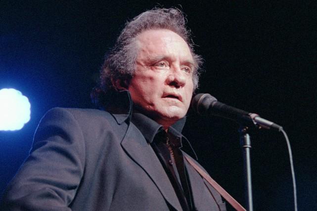 Johnny Cash... (Photo Daniel Janin, archives AFP)