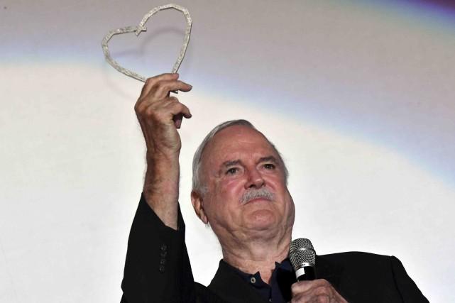 John Cleeseau Festival du film de Sarajevo... (AFP, Elvis Barukcic)