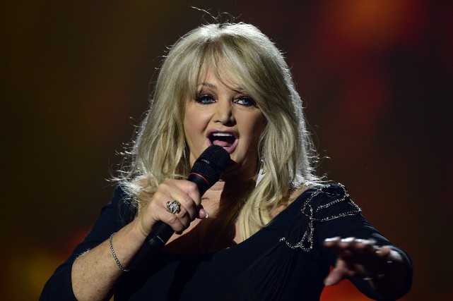 Bonnie Tyler... (ARCHIVES AFP)