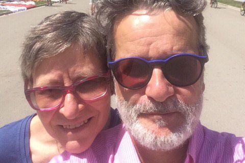 Lyne Laliberté et Jean-Marc Riverin se trouvaient dans... (Fournie par Jean-Marc Riverin)