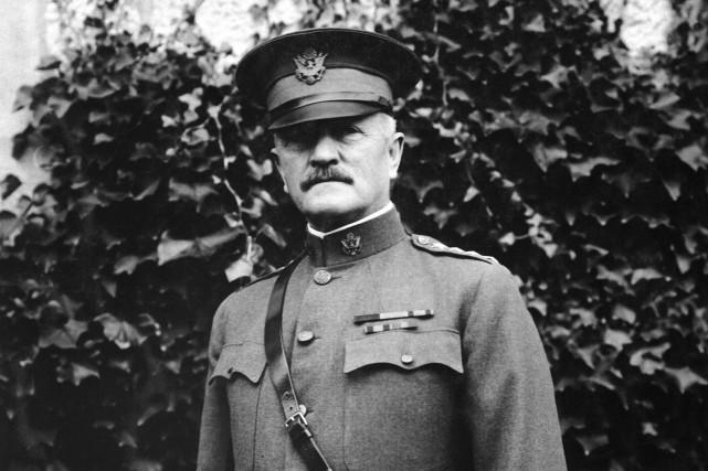 Selon une légende urbaine, le général Pershing aurait... (PHOTO WIKICOMMONS)