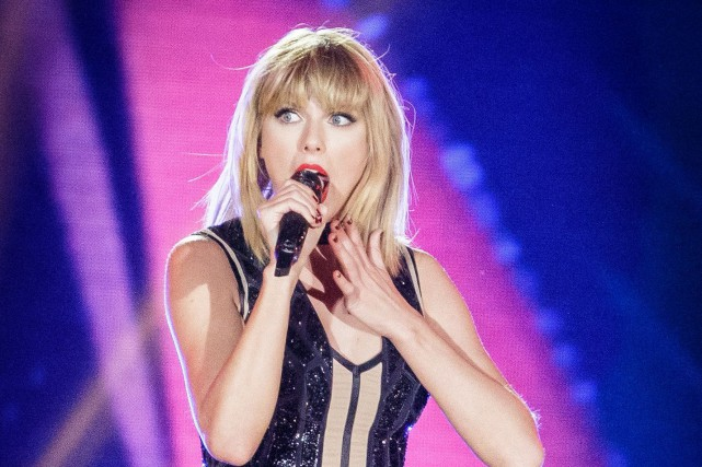 Taylor Swift... (Photo Suzanne Cordeiro, archives AFP)