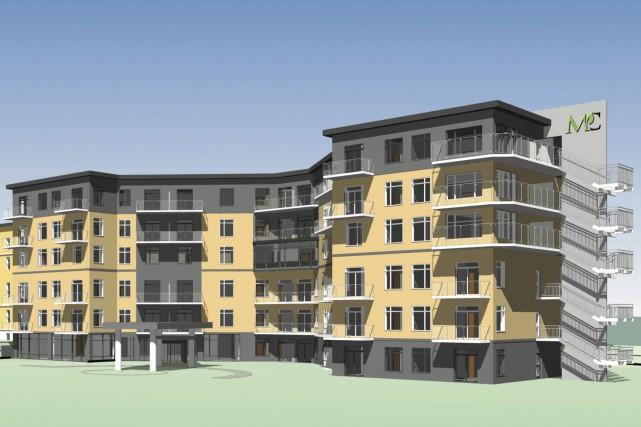 L'édifice comptera 158 unités, soit des appartements de... (fournie par Tac Tic Marketing)