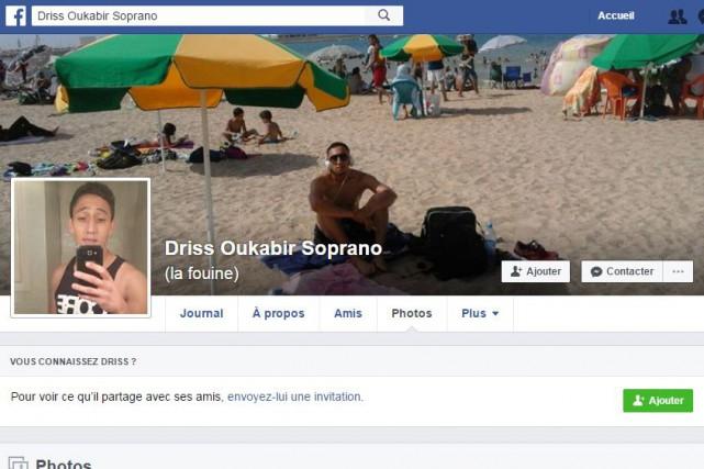 Driss Oukabir, unMarocain sans antécédent judiciaire, est lié... (FACEBOOK)