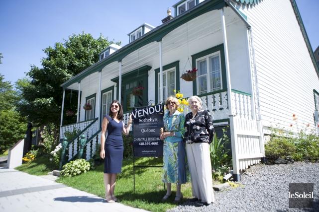 L'ancienne propriétaire de la Maison Krieghoff, Esther Harrison... (Le Soleil, Caroline Grégoire)