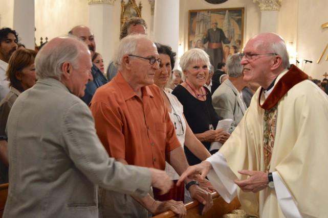 Une soirée «hommage et reconnaissance» a eu lieu... (fournie par le diocèse de Saint-Hyacinthe)