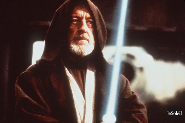 Alec Guinness a incarnéObi-Wan Kenobi dans la trilogie... (Archives Le Soleil)